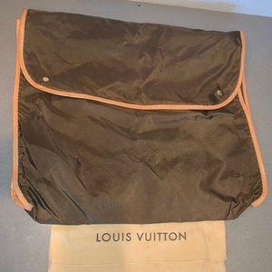 Authentic Louis Vuitton garment cover package case